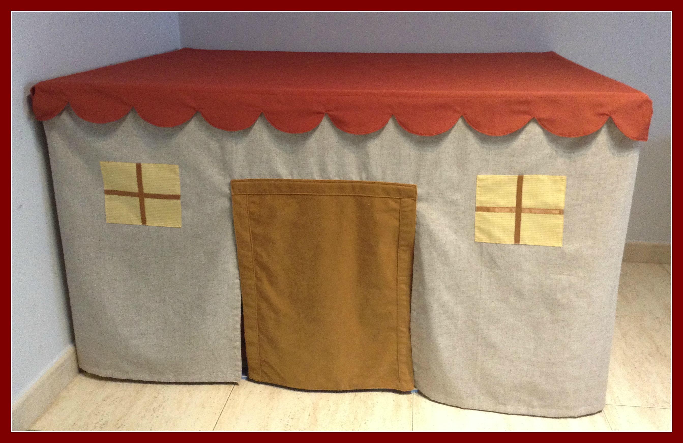Crea una casita para tus hijos y ahorra espacio en tu hogar