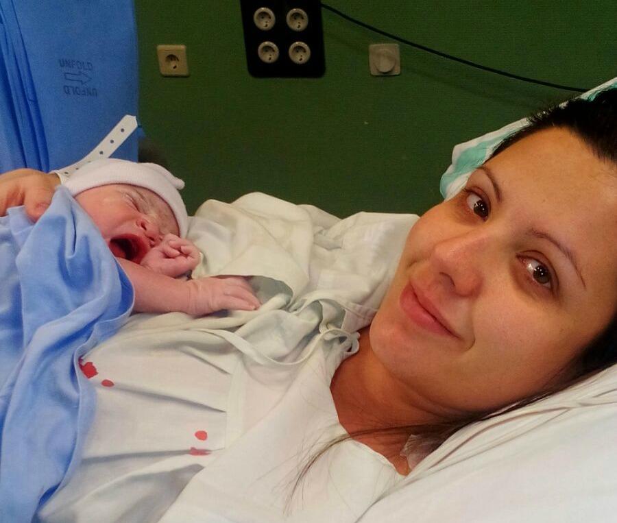 Mi parto: la llegada de Inés