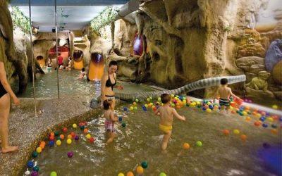 Spa para niños y nieve en Teruel