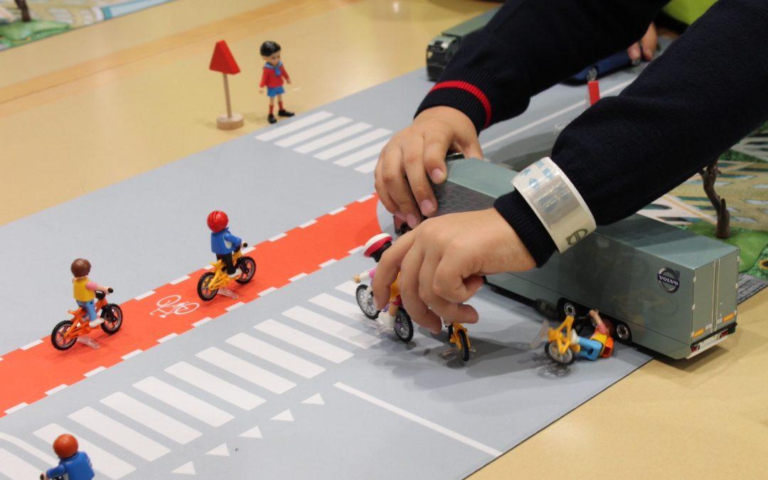 Descubre cómo trabajar la seguridad vial con los niños